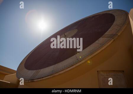 Jantar Mantar Astronomical Observatory,Jaipur,Rajasthan,India - Stock Photo
