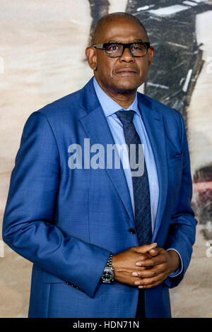 Forest Whitaker attends the Launch Event of ROGUE ONE: A STAR WARS STORY  on 13/12/2016 at  Tate Modern, Bankside, - Stock Photo