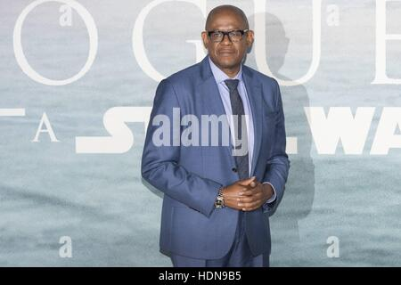 London, UK. 13th Dec, 2016. Forest Whitaker attends the Launch Event of ROGUE ONE: A STAR WARS STORY at Tate Modern, - Stock Photo