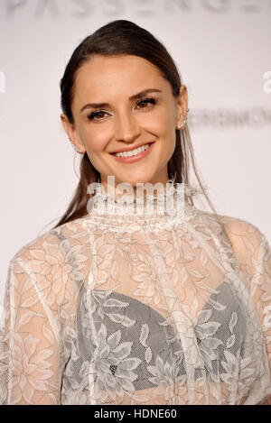 Westwood, USA. 14th Dec, 2016. Rachael Leigh Cook at the Los Angeles premiere of 'Passengers' held at the Regency - Stock Photo