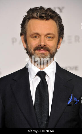Westwood, USA. 14th Dec, 2016. Michael Sheen at the Los Angeles premiere of 'Passengers' held at the Regency Village - Stock Photo