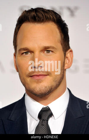 Westwood, USA. 14th Dec, 2016. Chris Pratt at the Los Angeles premiere of 'Passengers' held at the Regency Village - Stock Photo