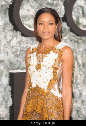 London, UK. 15th Dec, 2016. Naomie Harris attends the European Premiere of 'Collateral Beauty' at VUE Cinema. © - Stock Photo