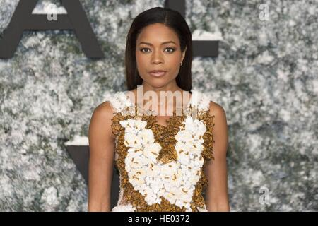London, UK. 15th Dec, 2016. Naomie Harris attends the European Premiere of COLLATERAL BEAUTY at Leicester Square, - Stock Photo