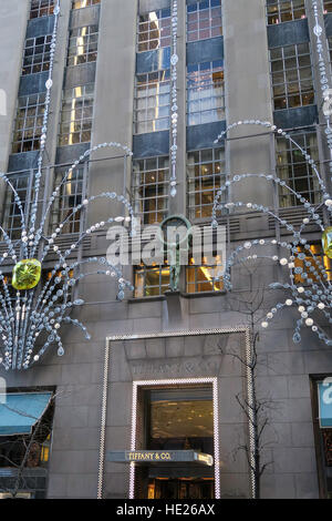Tiffany co sign outside jewelry store new york ny usa for Jewelry stores in new york ny