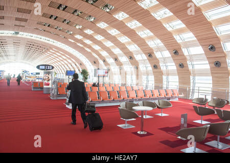 the f terminal gates at charles de gaulle cdg airport in roissy stock photo royalty free image. Black Bedroom Furniture Sets. Home Design Ideas