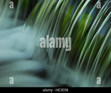 Close Up of Flowing Water - Stock Photo