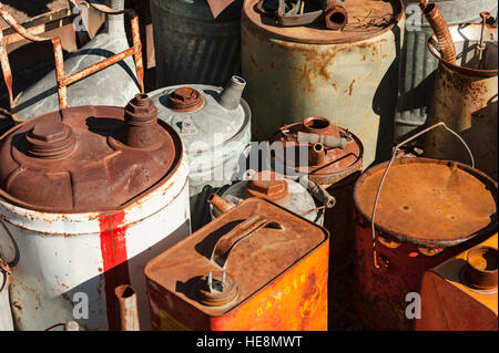 Vintage Oil Cans Stock Photo Royalty Free Image 19616439