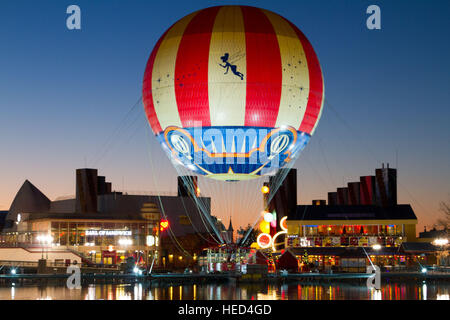 Disney Village Marne La Vallee France - Stock Photo