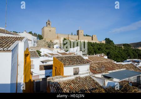 Antequera, Andalucia, Andalusia, Spain, Europe. Plaza del Stock Photo, Royalt...