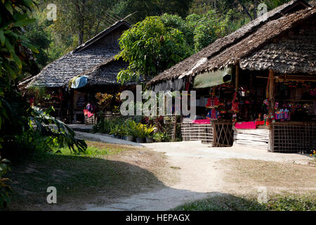 Hill Tribe in Thailand - Stock Photo