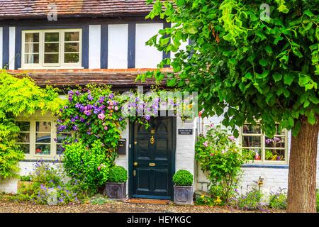 a lovely cottage in Ross on Wye, Hereford - Stock Photo
