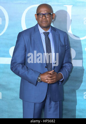 LONDON, ENGLAND - DECEMBER 13:    Forest Whitaker attends the launch event for 'Rogue One: A Star Wars Story' at - Stock Photo