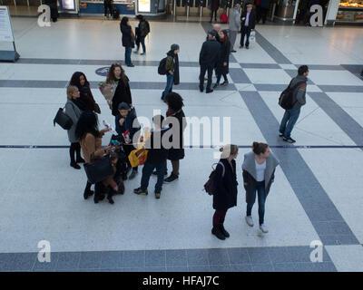 London Transport system TFL England UK Europe - Stock Photo