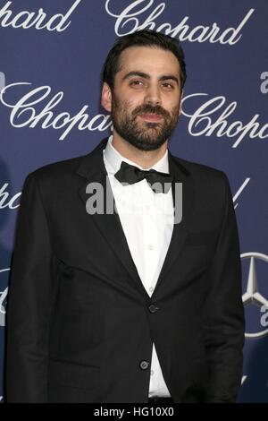 Palm Springs, CA. 2nd Jan, 2017. Pablo Larrain at arrivals for 28th Annual Palm Springs International Film Festival - Stock Photo