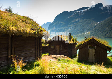Traditional wooden house in mountains poland stock photo for Traditionelles thai haus