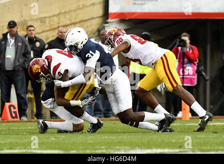 Pasadena, California, USA. 2nd Jan, 2017. Cam Brown of the Penn State Nittany Lions in action during a 52-49 loss - Stock Photo