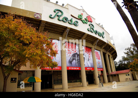 Pasadena, California, USA. 2nd Jan, 2017. The Rose Bowl hosted a thrilling game as the USC Trojans defeated the - Stock Photo