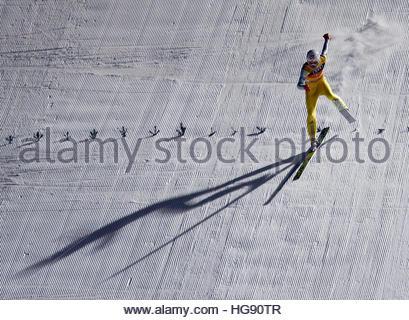 Ski Jumping - 65th four-hills ski jumping tournament final round - Bischofshofen, Austria - 06/01/2017 - Norway's - Stockfoto