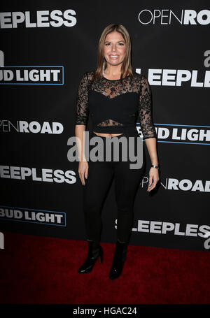 Los Angeles, CA - JANUARY 05: Fernanda Kelly, At Premiere Of Open Road Films' 'Sleepless', At Regal LA Live Stadium - Stock Photo