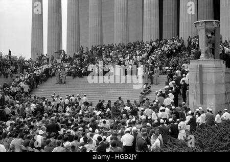 August 28, 1963 - Civil rights march on Washington D.C. - Stock Photo
