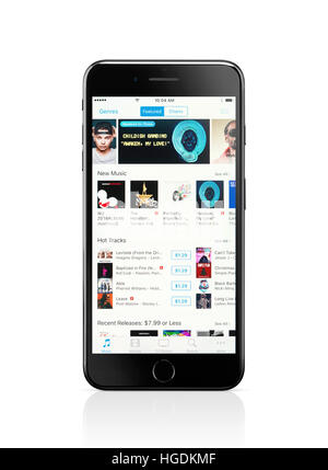 how to buy itunes music on iphone
