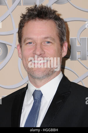 Beverly Hills, CA, USA. 8th Jan, 2017. 08 January 2017 - Beverly Hills, California - James Tupper. HBO's Official - Stock Photo