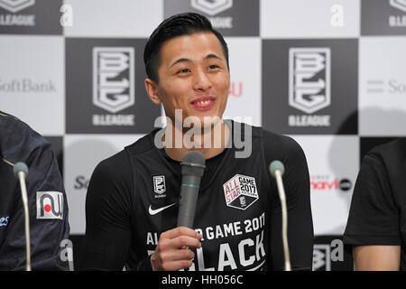 Tokyo, Japan. 15th Jan, 2017. Yuki Togashi (Jets) Basketball : B.LEAGUE All Star Game 2017 match between B.Black - Stockfoto