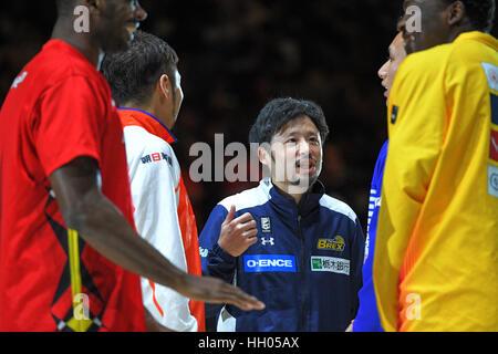 Tokyo, Japan. 15th Jan, 2017. Yuta Tabuse (Brex) Basketball : B.LEAGUE All Star Game 2017 match between B.Black - Stockfoto