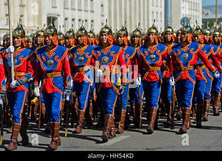 Mongolian Army Parade Parade of the M...