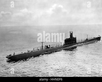 Second World War / WWII, naval warfare, italian submarine - Stock Photo