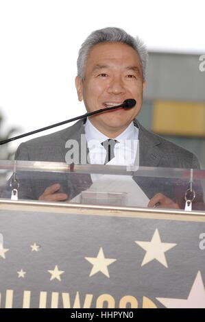 Los Angeles, USA. 19th Jan, 2017. Kevin Tsujihara at the induction ceremony for his star on the Hollywood Walk of - Stock Photo