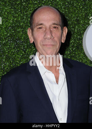 West Hollywood, USA. 19th Jan, 2017. 'NCIS: Los Angeles' star Miguel Ferrer has died at age 61 after a battle with - Stock Photo