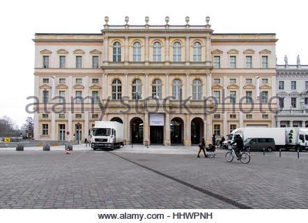 New Museum Barberini in Potsdam, Germany - Stock Photo
