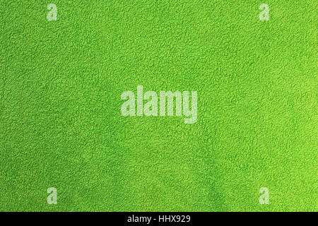 green towel textural surface, real texture for your design - Stock Photo