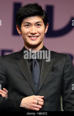 Tokyo, Japan, 24th Jan, 2017. Japanese actror Haruma Miura ...