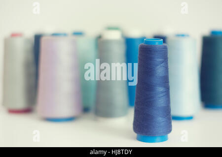Reels of Cotton thread - Stock Photo