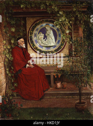 George Frederic Watts by George Andrews - Stock Photo