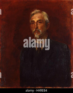 Charles Booth by George Frederic Watts - Stock Photo