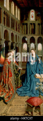 Eyck, Jan van - The Annunciation - Stock Photo