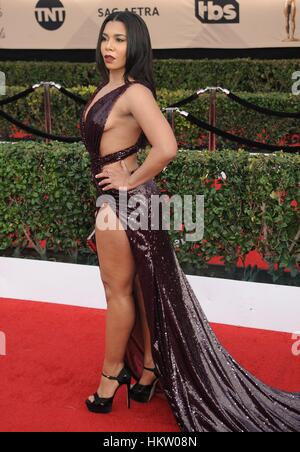 Los Angeles, CA, USA. 29th Jan, 2017. Jessica Pimentel at arrivals for 23rd Annual Screen Actors Guild Awards, Presented - Stock Photo