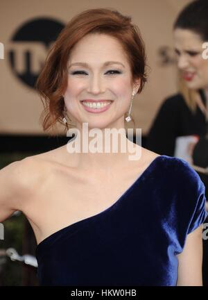 Los Angeles, CA, USA. 29th Jan, 2017. Ellie Kemper at arrivals for 23rd Annual Screen Actors Guild Awards, Presented - Stock Photo