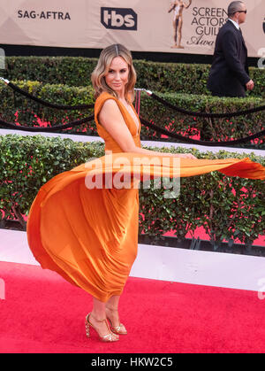 Los Angeles, USA. 29th Jan, 2017. Keltie Knight arrives at the 23rd Annual Screen Actors Guild Awards in Los Angeles, - Stock Photo