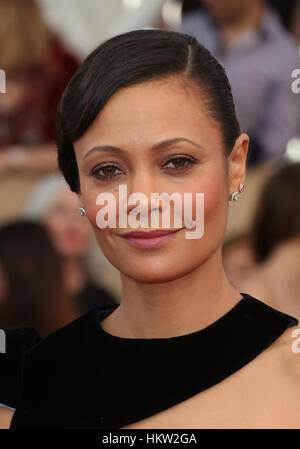 Los Angeles, California, USA. 29th Jan, 2017. Thandie Newton at The 23rd Annual Screen Actors Guild Awards at The - Stock Photo