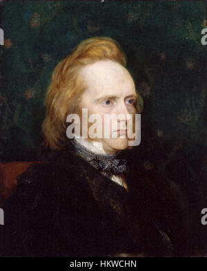 George Douglas Campbell, 8th Duke of Argyll by George Frederic Watts - Stockfoto