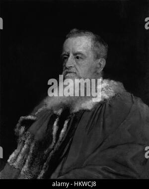 George Frederick Samuel Robinson, 1st Marquess of Ripon by George Frederic Watts - Stockfoto