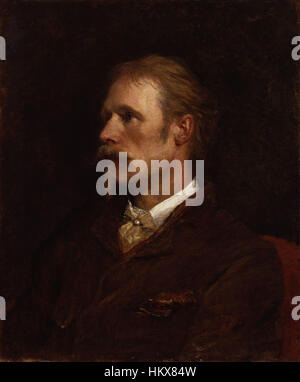Walter Crane by George Frederic Watts - Stock Photo