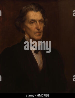 James Martineau by George Frederic Watts - Stock Photo