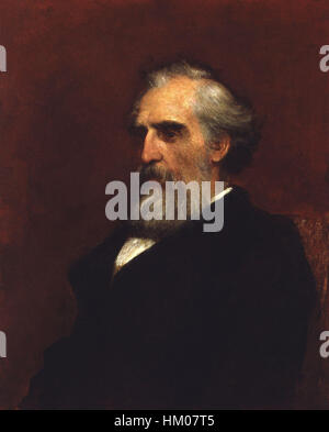 John Passmore Edwards by George Frederic Watts - Stockfoto