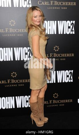 Los Angeles, CA, USA. 30th Jan, 2017. Charlotte Ross at arrivals for JOHN WICK: CHAPTER TWO Premiere, Arclight Hollywood, - Stock Photo